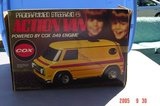 Vintage Cox .049 Programmed Steering Action Van in Glendale Heights, Illinois