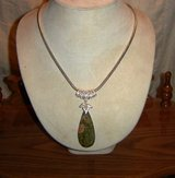 Unakite Gemstone Pendants SS in Ruidoso, New Mexico