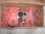 Chevrolet 350 intake manifold in Cherry Point, North Carolina