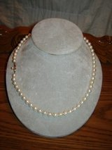 """20"""" Strand of """"AA"""" Pearls 14K Yellow Gold Clasp in Alamogordo, New Mexico"""